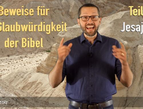 Erfüllte Prophetie: Jesaja 53 sagt den Tod und die Auferstehung von Jesus voraus! − Dr. Lukas Stolz